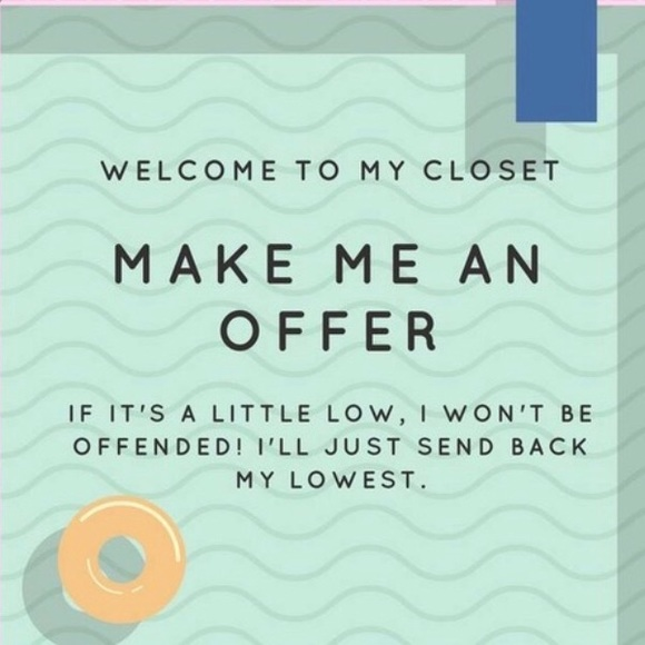 Other - Love something but not the price? Make me an offer